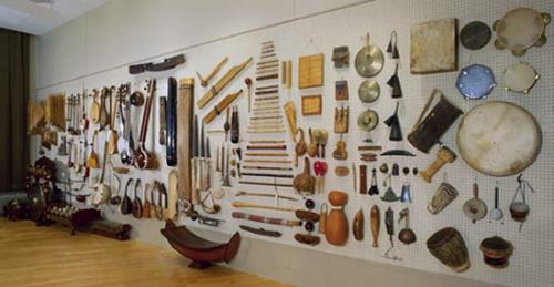 Instruments from Grinnell's World Music Instrument Collection